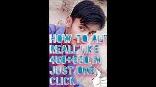 How to auto like 1k in just one click👆