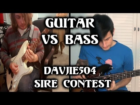 Download Youtube: Guitar VS Bass [Messiah of Fire - Davie504 Sire Contest]