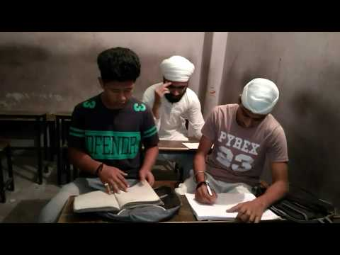 Student life || Non medical vs commerce students || Latest Punjabi Song || Funny | By lallas gang ||