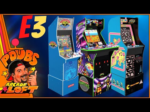 Arcade1Up E3 2021 Day 1 Reveals Big Blue, Turtles in Time, Class of 1981! from PDubs Arcade Loft