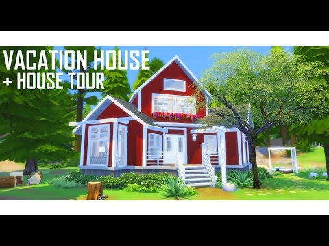 THE SIMS 4 | Vacation House  BUILD | + House Tour