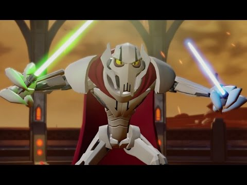 Disney Infinity 3.0 - Twilight of the Republic Playset Part 2 - General Grievous Boss Fight