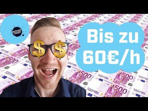 Bestbezahlten Studentenjobs Bis Zu 60€/h