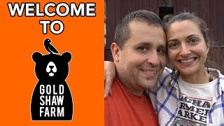 Welcome to Gold Shaw Farm (Trailer for Vermont VLOGGER)