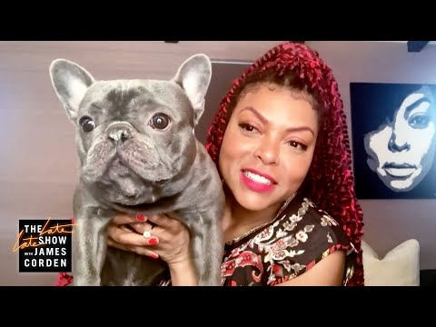 Meet Taraji P. Henson's French Bulldog, K Ball