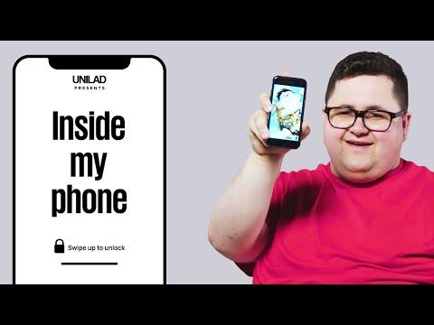 What's Inside Big Heath's Phone? | Inside My Phone