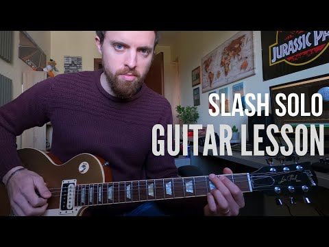 TUTORIAL – Ozzy Osbourne – Ordinary Man – SLASH GUITAR SOLO