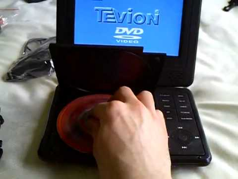 """Tevion 7"""" Portable DVD"""