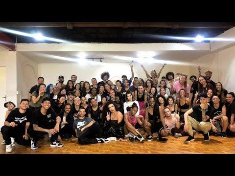 Coreografia  de Arrasta  Coreografa Flávia Lima part Gloria Groove Master Class