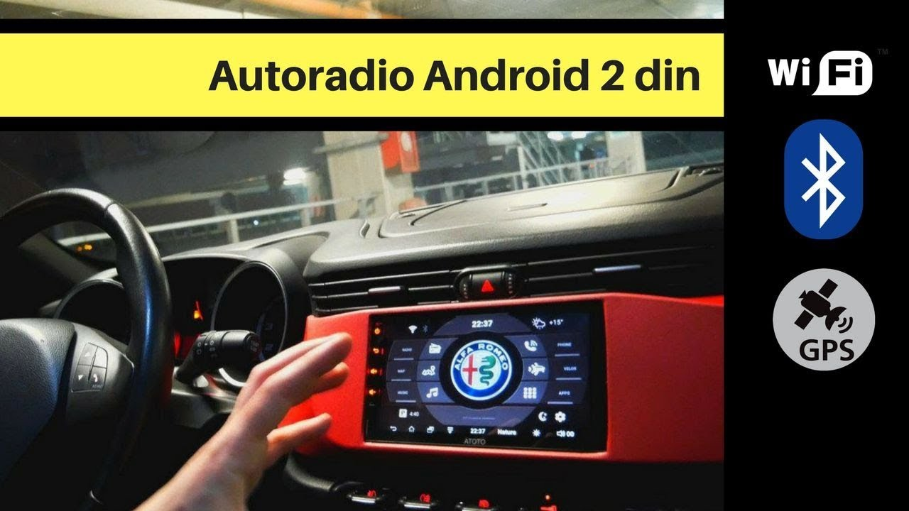 migliore autoradio 2 din android economica recensione atoto a6 youtube. Black Bedroom Furniture Sets. Home Design Ideas