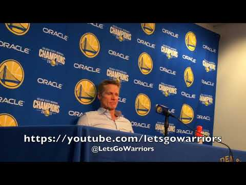 Entire STEVE KERR postgame: Zaza, 4 All-Stars, D.West & Looney, Durant 13 assists