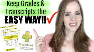 HOMESCHOOL RECORD KEEPING | How to Keep Grades & Transcripts! | FREE & EASY!