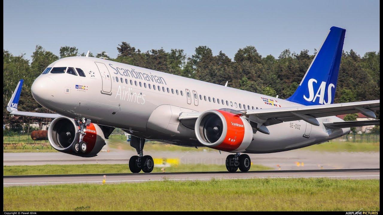 Flightgear ENBR (Bergen) landing SAS A320NEO