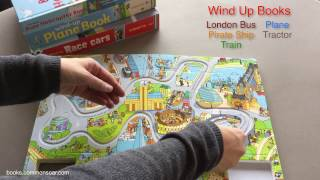 Usborne Books & More Pull Back Busy Books, Wind Up Books and Shine a Light Books
