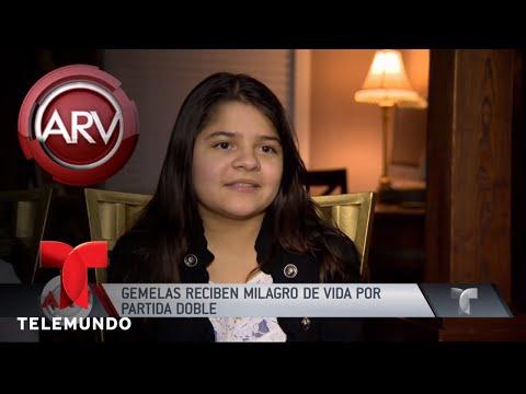 "Gemelas hispanas reciben ""milagro"" de una nueva vida | Al Rojo Vivo | Telemundo"