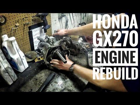 Honda GX270 Engine Rebuild FSTGK Pt. 2