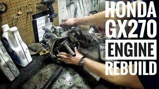 honda gx270 engine rebuild fstgk pt 2
