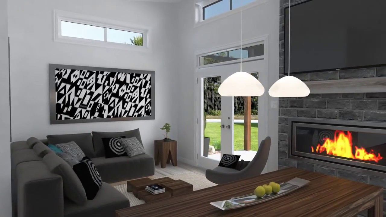 Scandinavian House Designs scandinavian house plan w1909-bhdrummond house plans - youtube