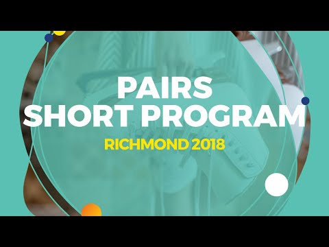 Mishina Anastasia / Galliamov Aleksandr (RUS) | Pairs Short Program | Richmond 2018