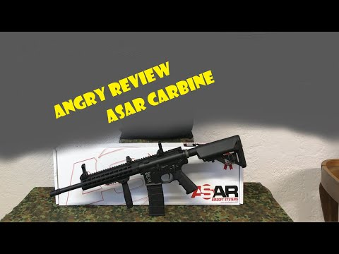 "Airsoft Systems ASAR-15 ""Carbine"" S-AEG Bundle"