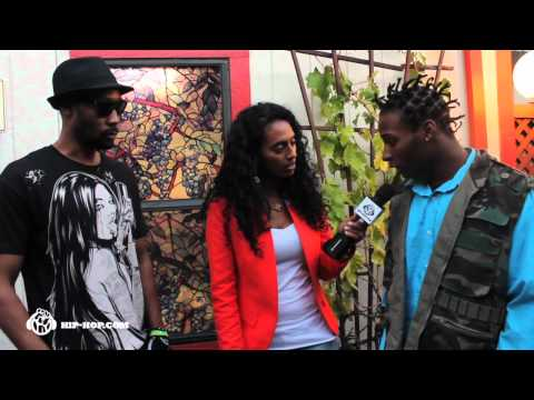 RZA and Boy Jones Interview with Saba G at RTB 2012