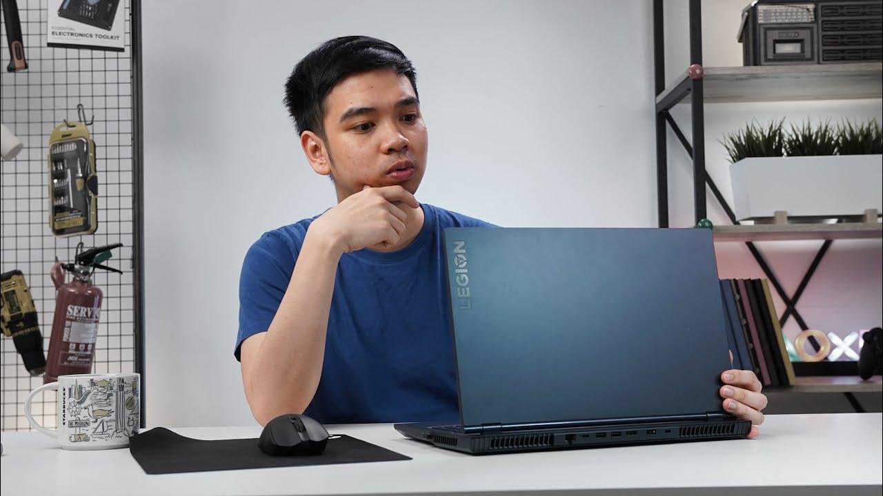 Laptop gaming bisa sedingin ini... - Lenovo Legion 5