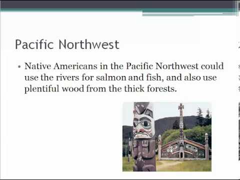 Native Americans   Climate And Geography