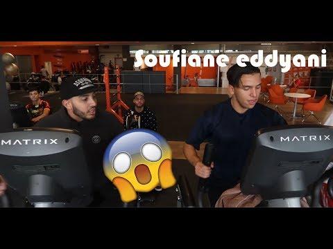 Soufiane Eddyani slopen in de gym! [KIJK TOT HET EINDE] #Vlog 9