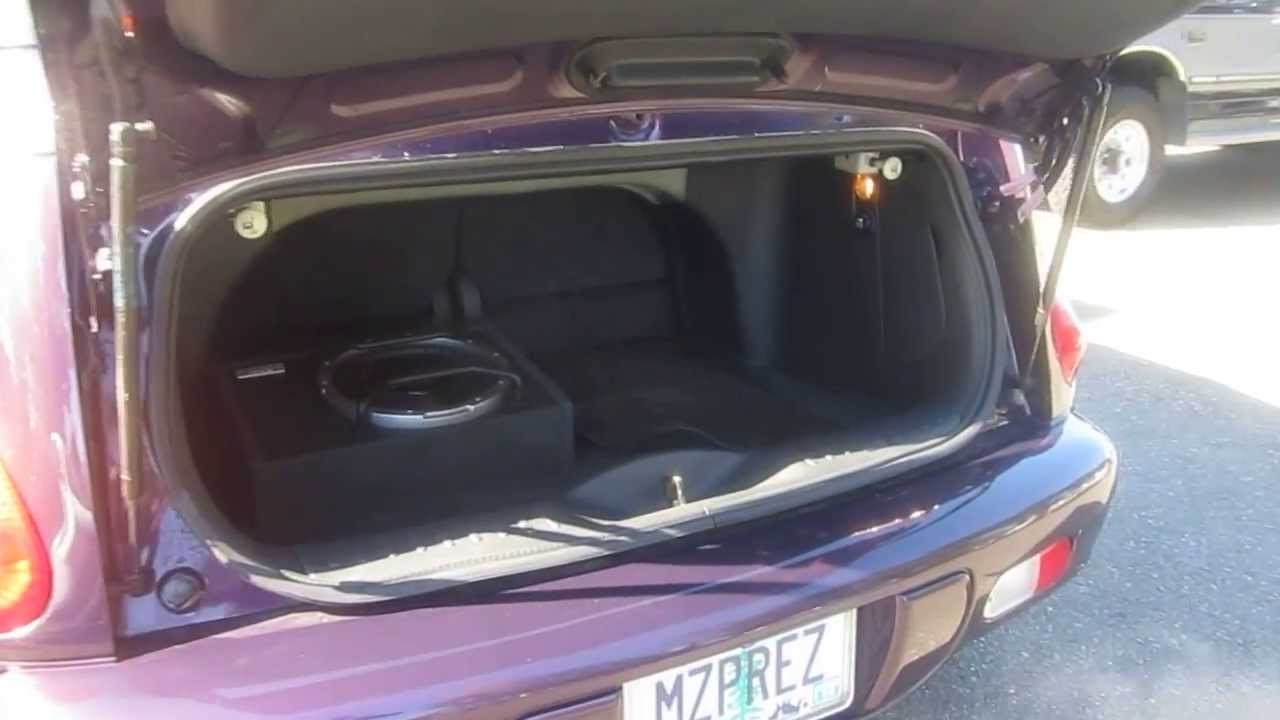 2005 Chrysler Pt Cruiser Purple Stock 5143a Trunk