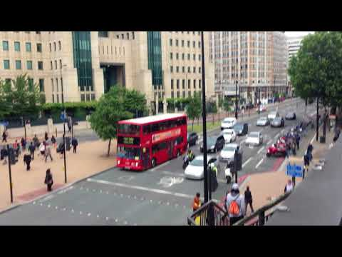 Met Police Special Escort - Escorting from MI6