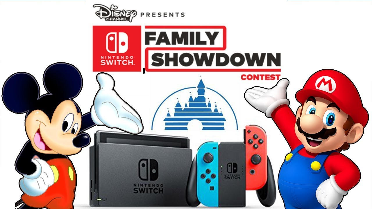 Disney Partners With Nintendo For Switch Game Show Youtube