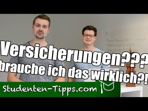 1000€ Nachzahlen Wegen Falscher Versicherung?! - Diese Versicherungen Brauchen Studenten Wirklich!