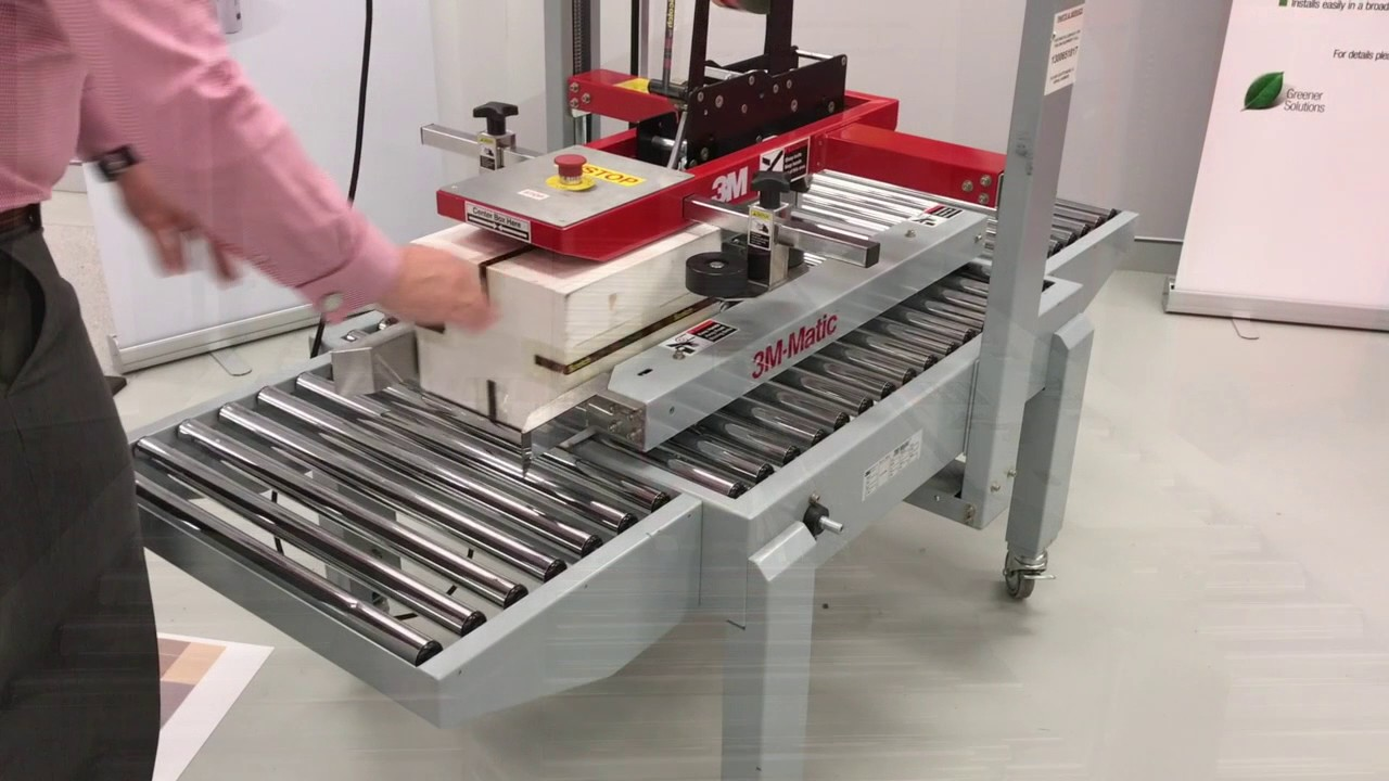 carton sealer 3m a88 entry level carton taping machine youtube