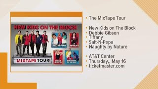 'Mixtape Tour' bringing New Kids On The Block, Salt-N-Pepa and more to San Antonio