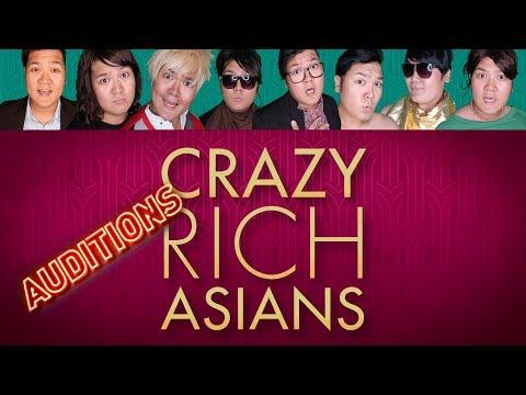 CRAZY RICH ASIANS AUDITION  Jeppy Paraiso - All Parts