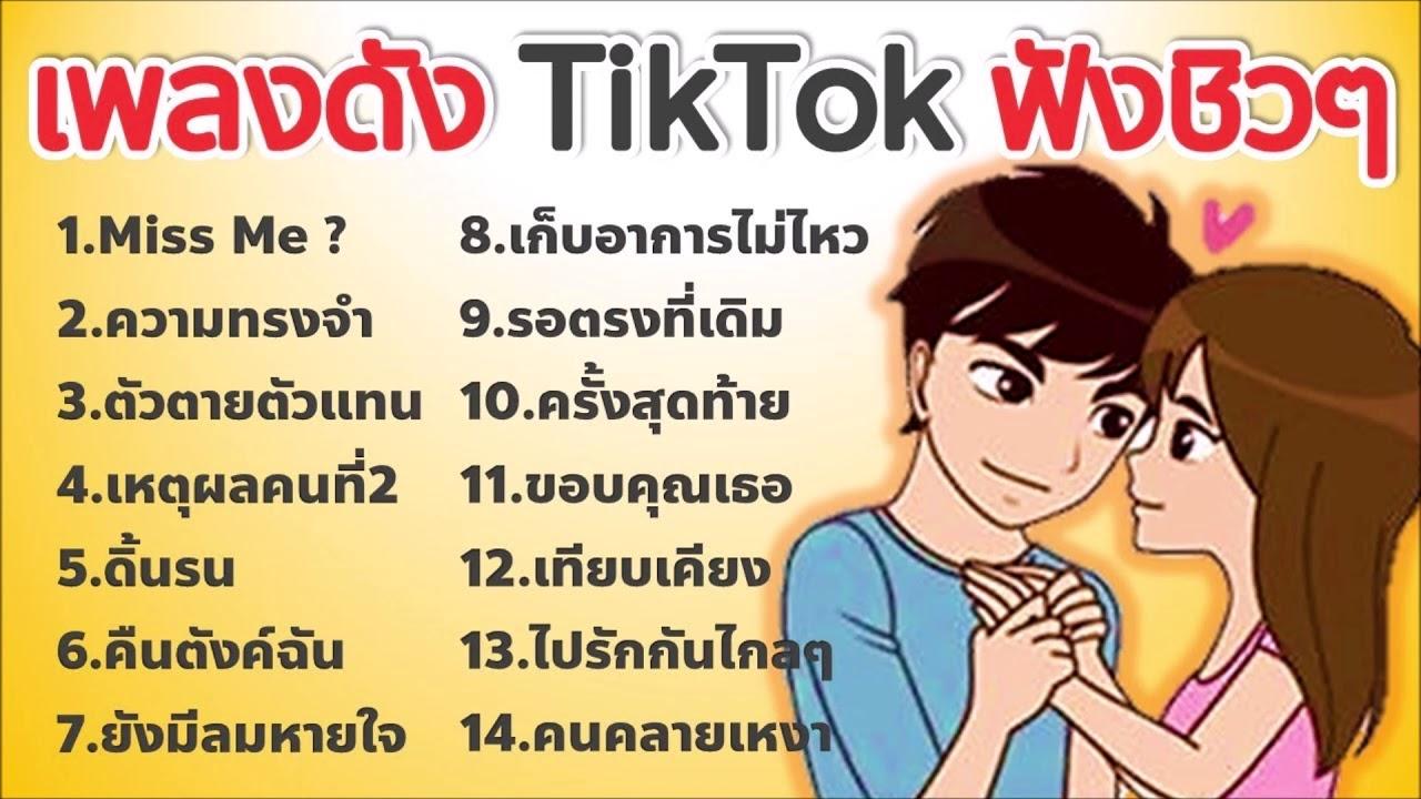 เพลงTikTok - เพลงเพราะๆ ใหม่ล่าสุด เพลงในแอพtiktok ♪♫ #3