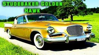 Автомобиль Studebaker Golden Hawk 1957 года.