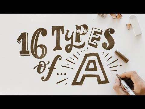 16 TYPES OF... A - On The IPAD PRO