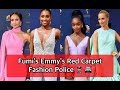 FUMI'S FASHION POLICE - EMMY'S 2018 BEST/WORST DRESSED RED CARPET REVIEW | Fumi Desalu-Vold