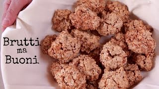 BRUTTI MA BUONI Ricetta Facile - Flourless Nut Cookies Easy Recipe
