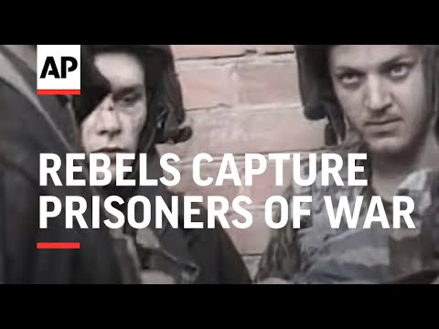 Chechnya - Rebels capture prisoners of war