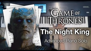 Game of Thrones  The Night King (Advanced Piano Solo with Sheet Music)