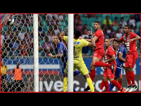 Bahia 3 X 0 Salgueiro. Gols de Artur Vitor, Fernandão e Gilberto