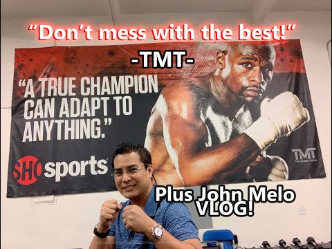 The MAYWEATHER TEAM exclusive interview! How FLOYD Jr got his defensive style...