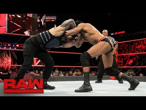 Roman Reigns vs. Jinder Mahal: Raw, March 13, 2017