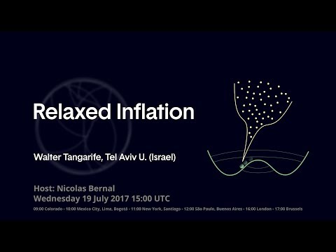 """[W46] Walter Tangarife: """"Relaxed Inflation"""""""