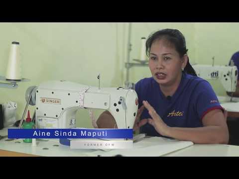 DTI SSF On Garments Sewing - Artes De San Vicente - Davao City