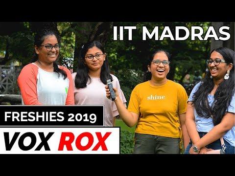 Freshers 2019 IIT Madras | Vox Rox