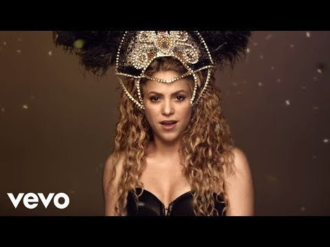 Shakira  La La La Brasil 2014 Spanish Version ft Carlinhos Brown