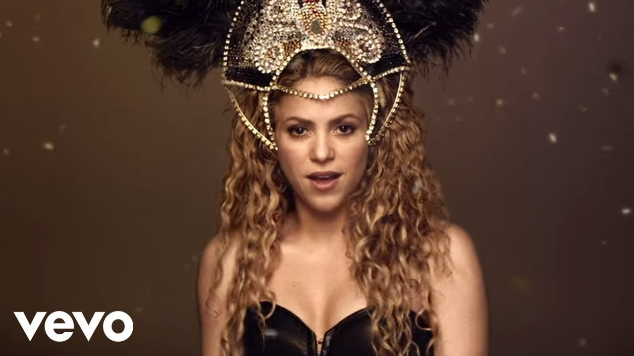 Shakira La La La Brazil 2014 Video Oficial Ft Carlinhos Brown Youtube